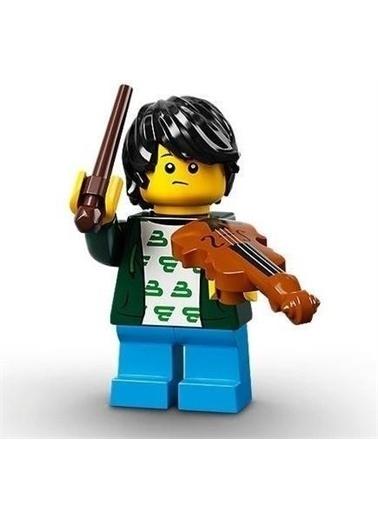 Lego Lego Minifigür - Seri 21 - 71029 - Violin Kid Renkli